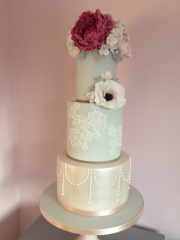 Floral Tiered Cake